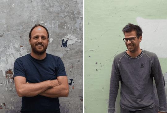 Zaakvoerders Vincent De Dobbeleer en Georges Lieben van June Energy