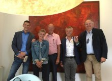 Stefan Faaij, Wil en Gerard van Alem, Philip Paelinck en Nicolas de Schutter