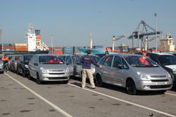 Controle de vehicules dans