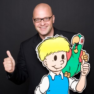 Ballon Media Alexis Dragonetti met Jommeke
