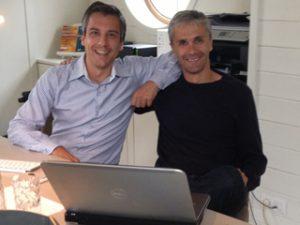 Pawshake stichters, Dries Coucke en Tanguy Peers