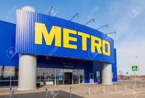 SAMARA, RUSSIA - APRIL 19, 2014: METRO Cash & Carry Samara Store. Metro Group is a German global diversified retail and wholesale/cash and carry group based in Dusseldorf