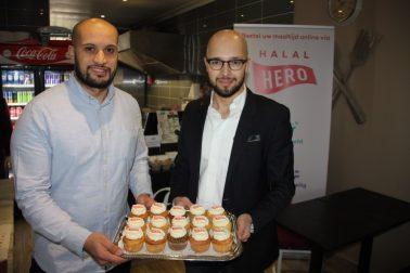 De oprichters van Halal Hero
