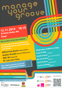 affiche Manage your groove