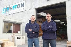 Zaakvoerders Patrick Spooren (links) en Serge Meulemans.