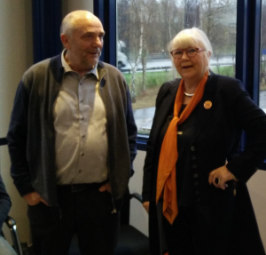Karel Beneens en Sophie Vangheel.