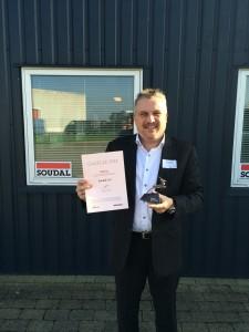 Soudal Denemarken wint award