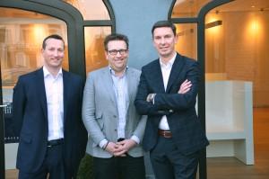 Kevin Prinsen, Rudy Mangelschots en Roel Druyts