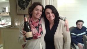 Marta Milà (Mas Comtal) en Nancy Verbeek (Vin-Ange).