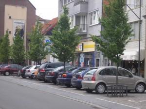parkeren in mol