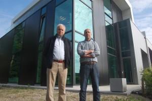 Yvo Van de Ven (Alucotec) en Joris Boonen (Versanico)