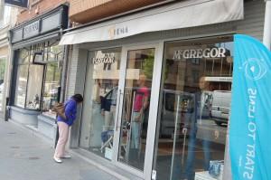Ook de McGregor Shop aan het Laar in Mol valt binnen het faillissement van Noname bvba.