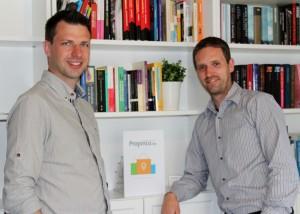 Kris Van Loco (links) en Frederik Deben