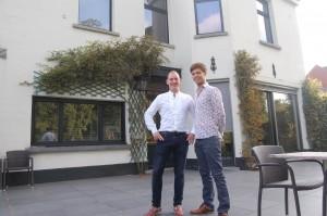 Jurgen Dirkx (links) en Emiel de Grendel.