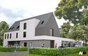 De toekomstige vestiging aan Zwaneven in Oud-Turnhout.