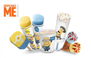 Minion-ijsjes