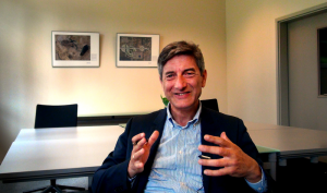 Luc Peeters, managing director van Innotek, is een van de sprekers.