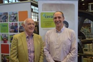 Theo Sels (links) en Alain De Keyser.