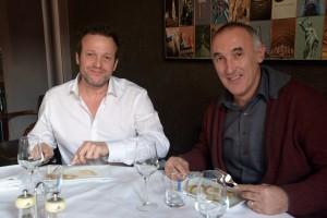 Joël Cuylaerts van RISA (links) en Danny Van Mullem van Lambers-Seghers.