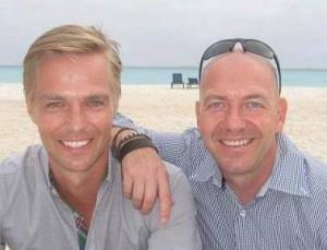 Werner Vennen (links) en Peter Ballière