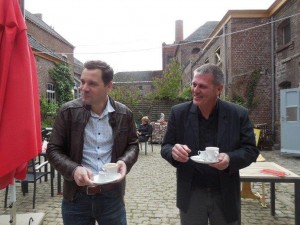 Bart Quirijnen (links) en Gust Vos.