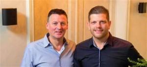 Carl Wens (links) en Jan Tobben.