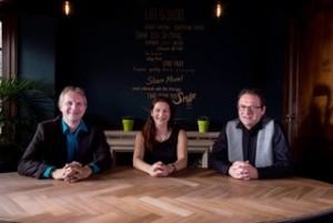 Vlnr: Michal Teunkens, Kim Spruyt en Kris Schenk.