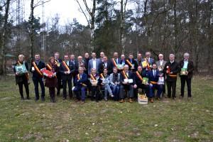 Kempense burgemeesters met streekproduct