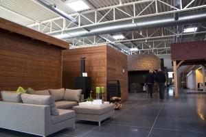 showroom LSB blokhutten indoor