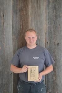 Tim Meeus kreeg vorig jaar nog het HIB-label van Unizo uitgereikt.