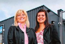 Marina Doggen en haar dochter.