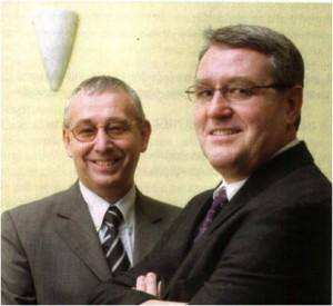 Hugo (links) en Jean-Marie Cloesen van Redosa.