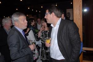 Roger Verjans en Luc Jeurissen.