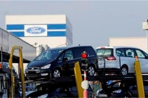 Ford Genk uitlevering auto