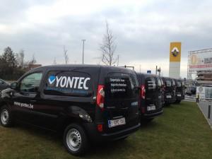bestelwagens Yontec