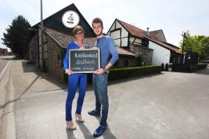 Jonge koppel overname zaak Ter Poorte Laurens Snykers en zijn vriendin Lien Buntinx gaan Zoethout restaurant openen 413387