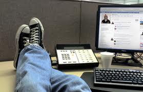 social media op het werk