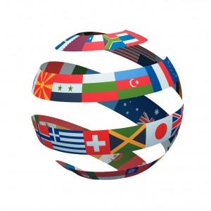 wereldbol export
