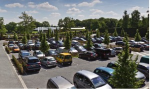 parking Genker Plantencentrum