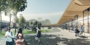 rendering retailpark Beringen
