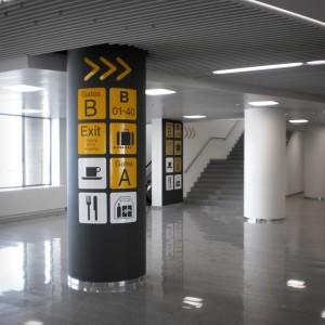 signalisatie brussels airport