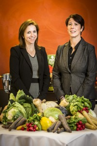 #eetmeerLimburg - gedeputeerde Inge Moors & directeur Liesbet Beyen - 1.12.2014