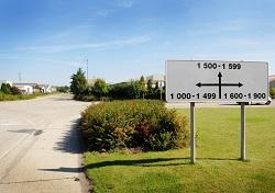 nummers industriezone