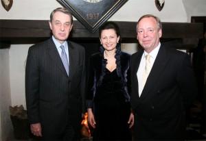 Van Vloten met Russische minister
