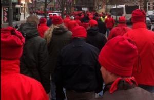 ABVV Hasselt betoging