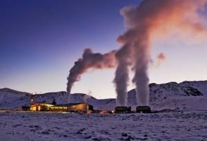 geothermische centrale