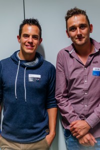 Niels Ciezkowski en Nick Nossin - N-TEC