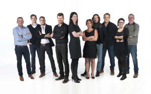 Kim Vaessen en team