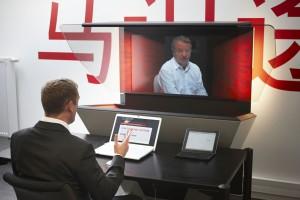 Temse : Persconferentie Mastervoice introductie nieuwe technologie voor directe communicatie.