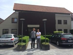 Willem Dumon en Michiel De Meulenaere voor ShareSpace